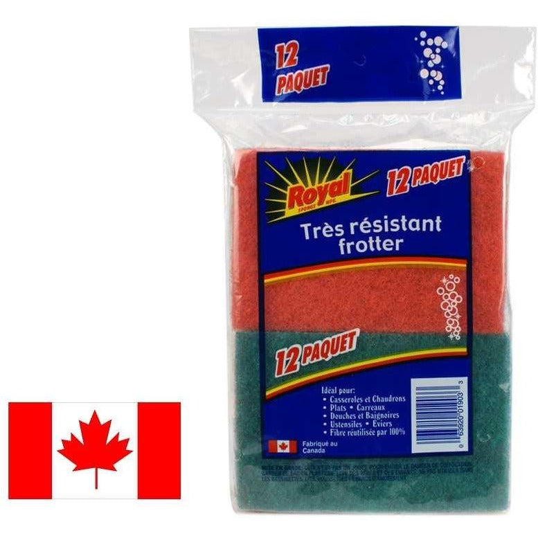12-pc Scouring Pads