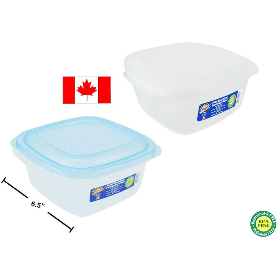 Food Container Square, 1050ml