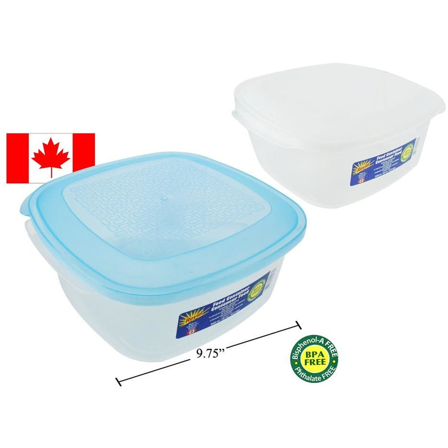 Food Container, Square, 3000ml