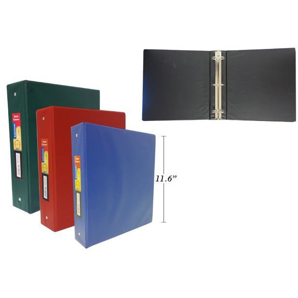 "2"" Hard Cover Vinyl Binder with Pockets"