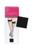2 Pairs Lady Knee Hi Pantyhose One Size, Black