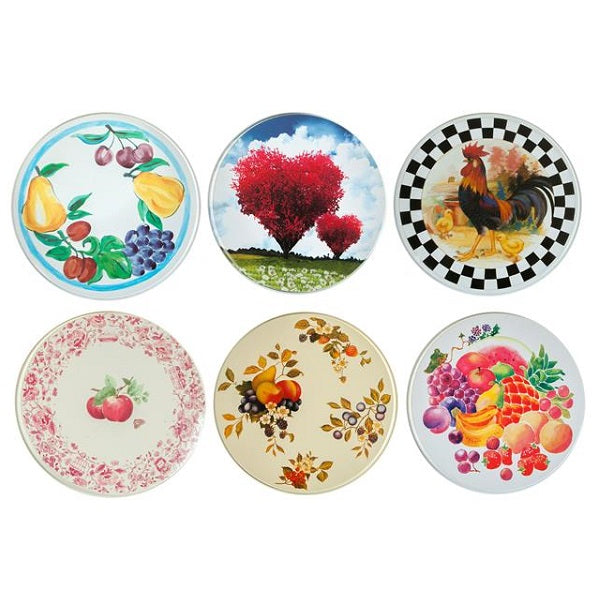 Decorative Burner Cover, Set of 4