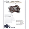 Vinyl Tablecloth Protector Clear - Round