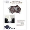 Vinyl Tablecloth Protector Clear - Rectangle