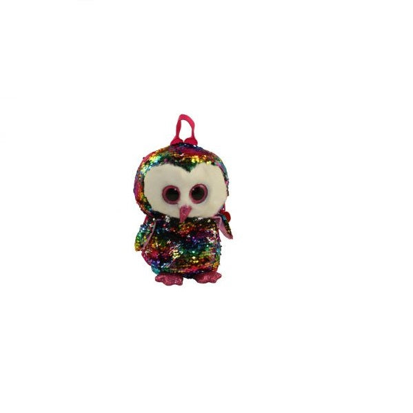 Ty Beanie Boos - Owen, Sequence Backpack 13""