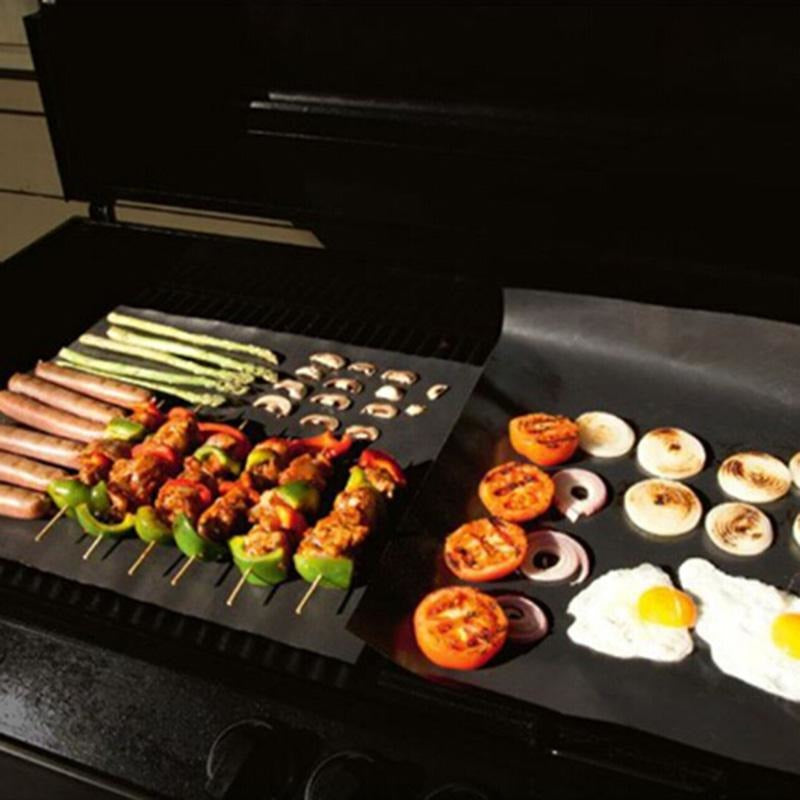 Miracle Reusable BBQ Grill Mat