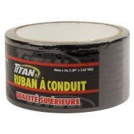 Titan Cloth Duct Tape - Black, 7m