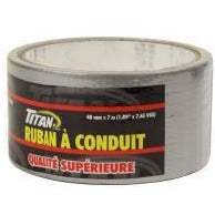Titan Cloth Duct Tape - Silver, 7m