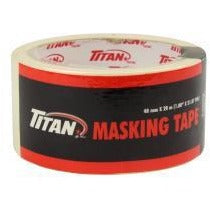 Titan Masking Tape - White, 48mm x 20m