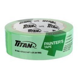 Titan Painter's Tape - Green, 25m