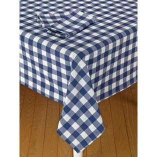 Flannel Back Tablecloth Checkers - Rectangle