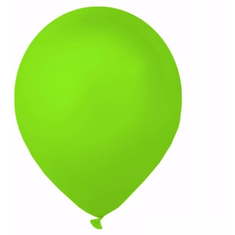 Lime Green Latex Balloons 10/pk