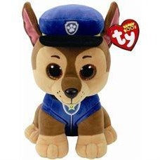 Ty Beanie Boos - Paw Patrol Chase, Large 10""