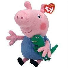 Ty Peppa Pig - George, Large 10""