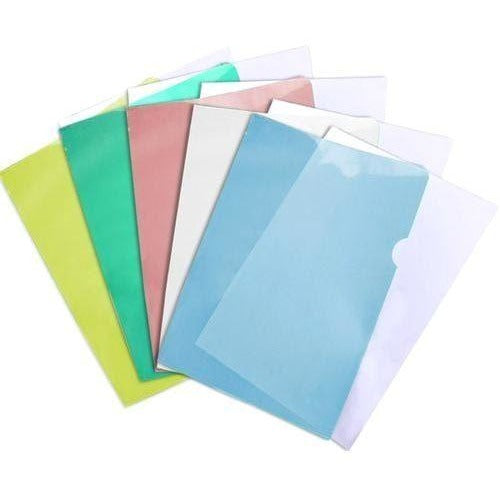 Legal Size Plastic Project Folders, 3/pk
