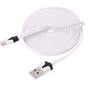 iPhone Charge & Sync Noodle Cable - 6.5FT