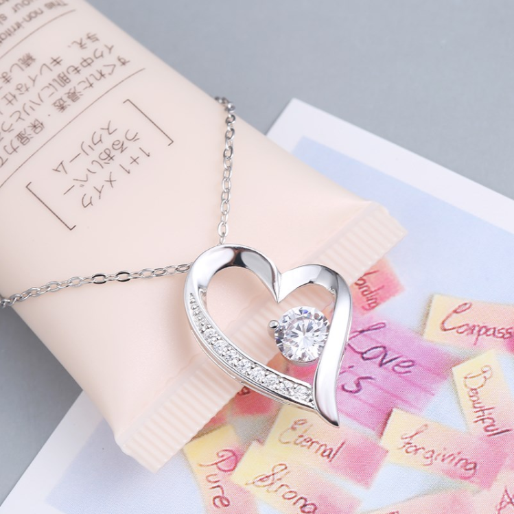 Silver Studded Heart