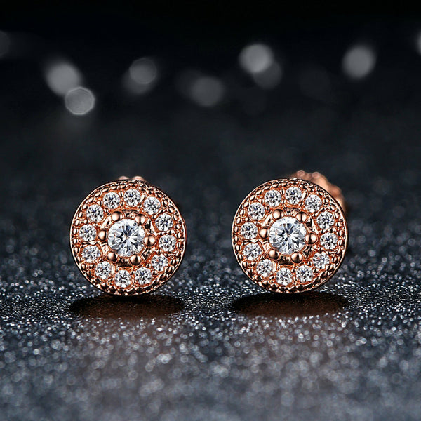 Studs of Royalty (Rose Gold)