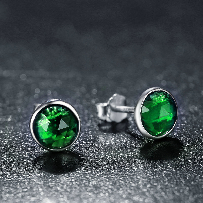 Earrings of the Siren (Caribbean Green)