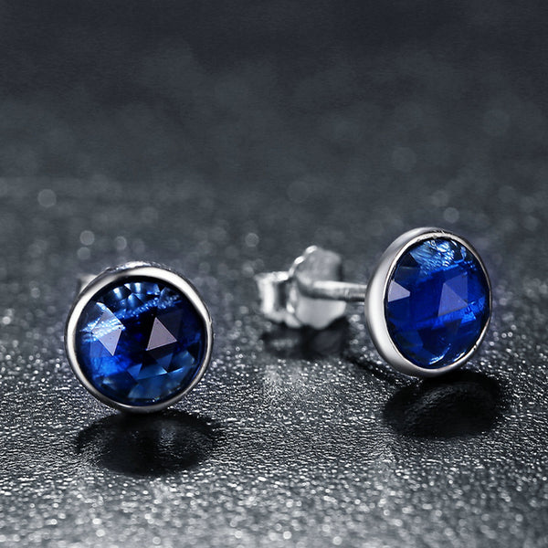 Earrings of the Siren (Deep Blue)