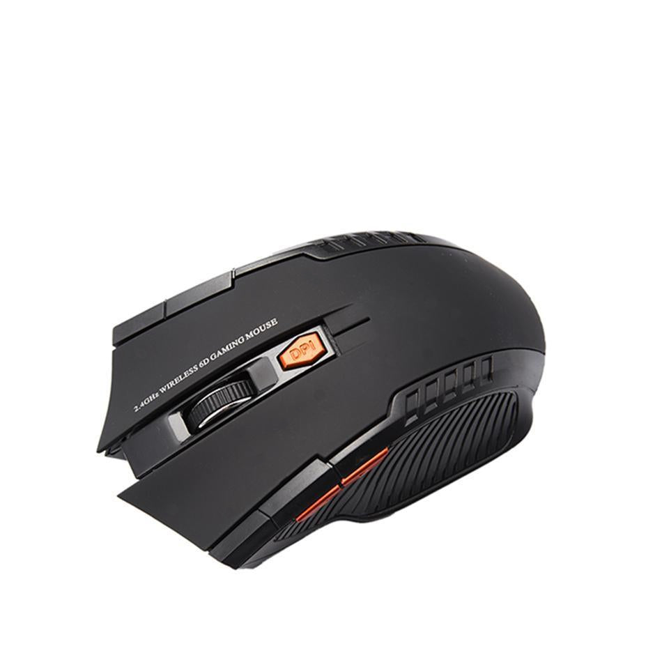 FREE 2.4GHz 6 Button Wireless Optical Gaming Mouse with Adjustable DPI