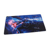 NSFW Blue Haired Anime Girl Large Premium Mouse Pad