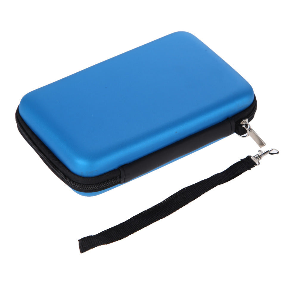 Nintendo 3DS XL LL Sky Blue Hard Cover Case