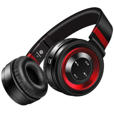 Bluetooth Wireless Headphone With Mic + TF Card, FM Radio Support