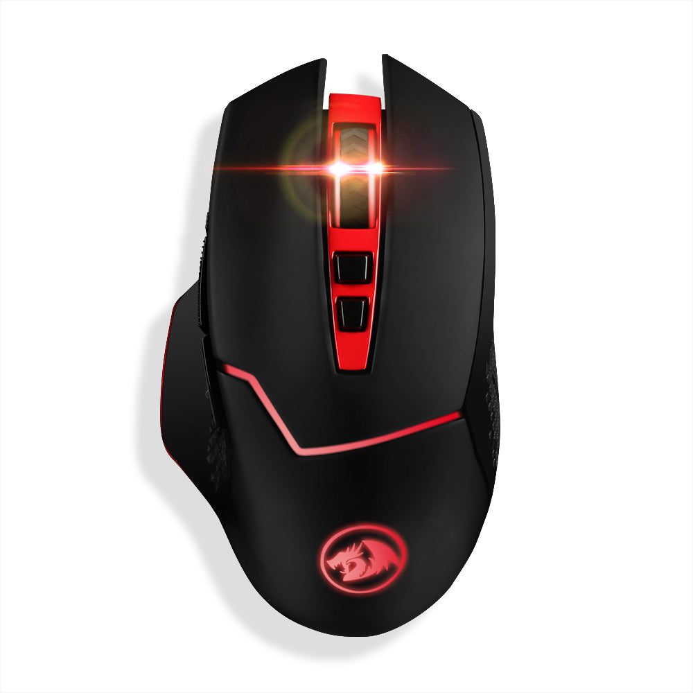 4800 DPI Professional Wireless Gaming Mouse with 7 Programmable Buttons