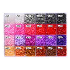 1000 Piece Fuse Beads a Variety of Colors Available