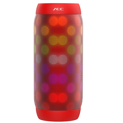 Bluetooth Wireless Portable LED Light Speakers with Super Bass