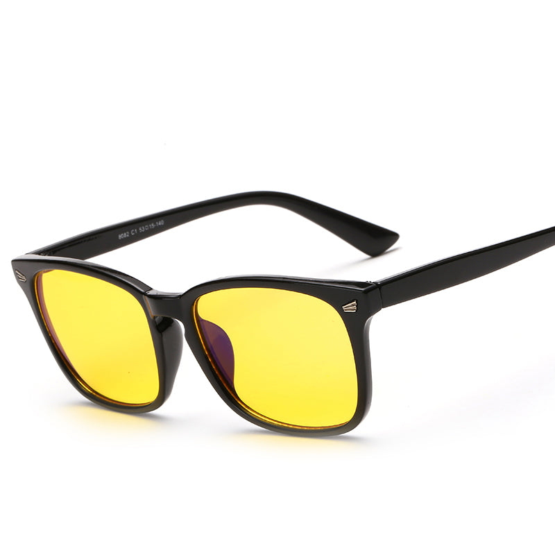 Anti Blue-Light & UV Protection Fashionable Gaming Glasses to Prevent Eye Strain