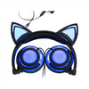 LED Glowing Cat Ear Headphones