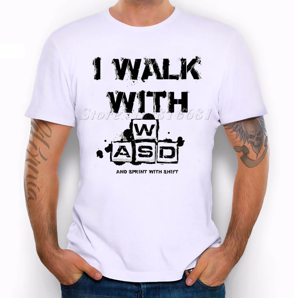 I Walk with WASD T-Shirt