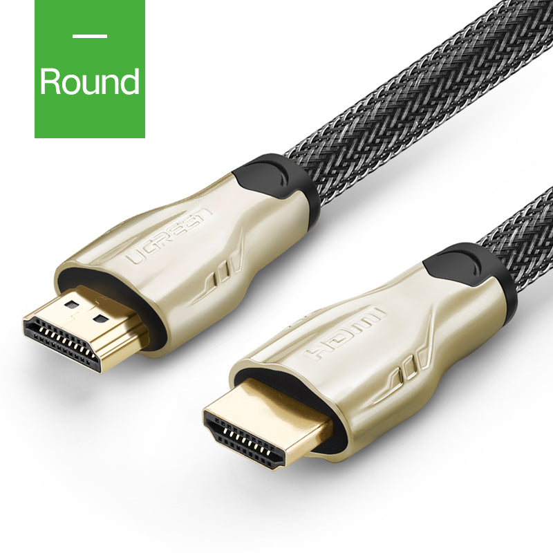 HDMI Cable 2.0 4K 1080P HDMI to HDMI Cable Flat or Round