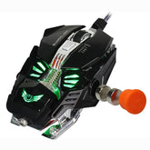 Mechanical 8 Button Optical Gaming Mouse with Adjustable 4000DPI + Macro Programming