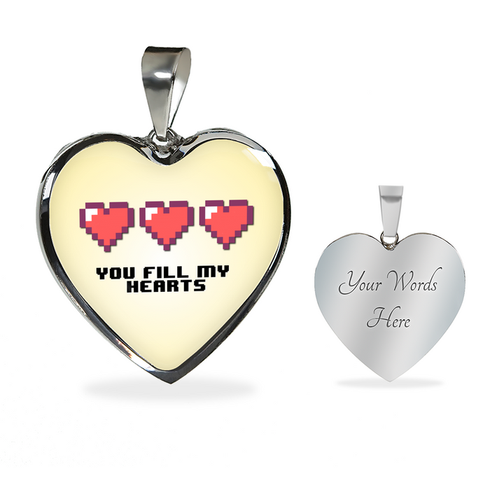 You Fill My Hearts Premium Jewelry Pearl Yellow