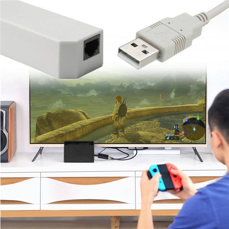 USB 2.0 Ethernet Adapter for Wifi Play