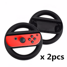 Two Joy-Con Racing Wheels for the Nintendo Switch
