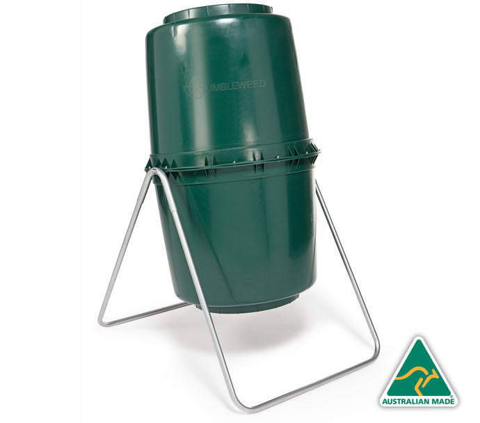 220L Compost Tumbler - Tumbleweed's Composting Product