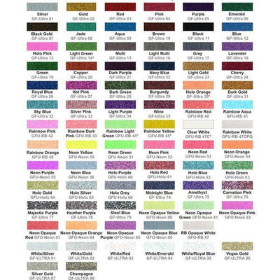 "2 for 1 10""x12"" Glitter HTV - Southern Style Design Bar"
