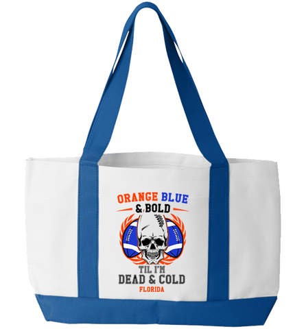 Dead And Cold Totebag
