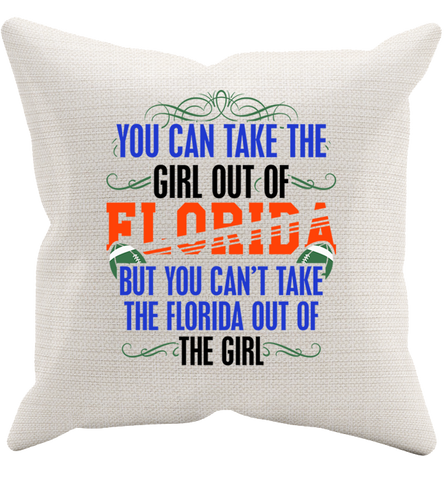 Florida Girl Pillowcase