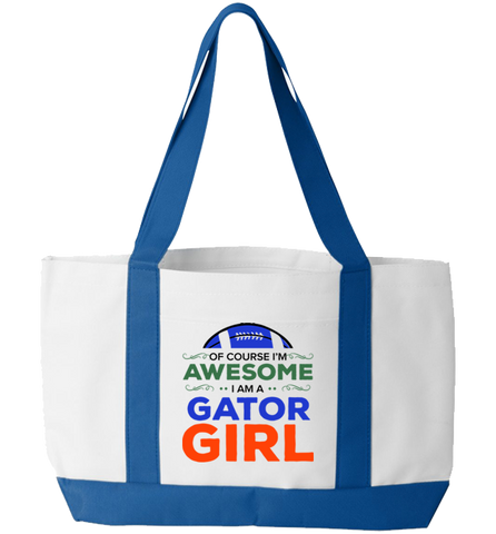Gator Girl Totebag