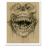 """Teeth Obsession"" 8×10 Print"