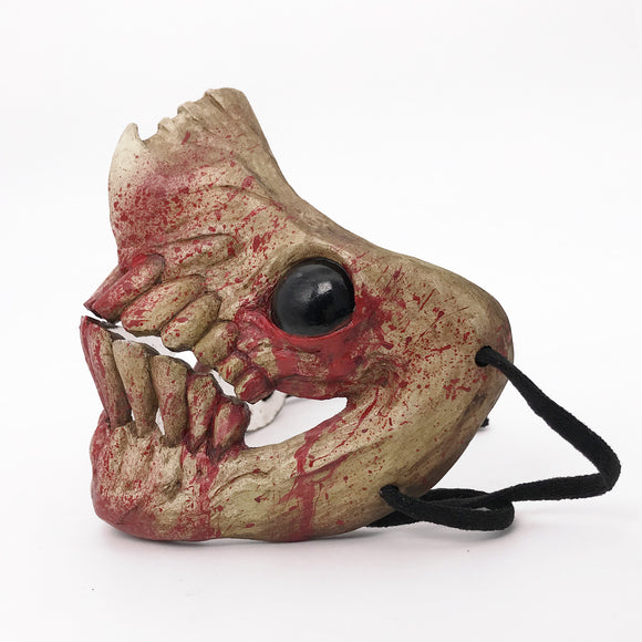Monster Mouth Mask - Blood Bone