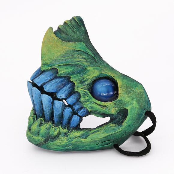 Monster Mouth Mask - Emerald