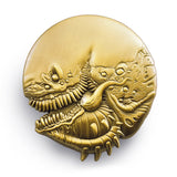 Sphere of Hallucination - Gold - Die Cast Pin