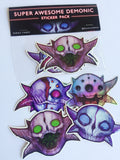 Super Awesome Demonic Sticker Pack - Series 3!