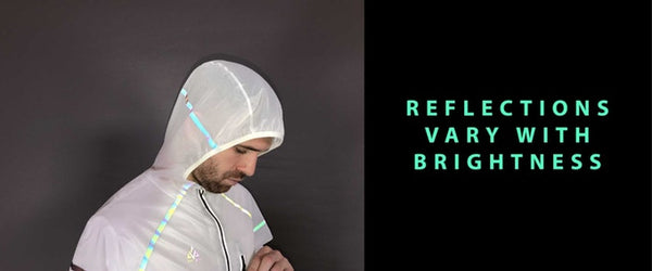 Phosphorescent solar jacket verjari
